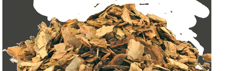 80L Kiefernrinde Pinienmulch Kiefernrinde Größe 10mm 60mm Gartenrinde